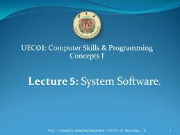uec01 computer skills u0026 programming concepts i ppt download