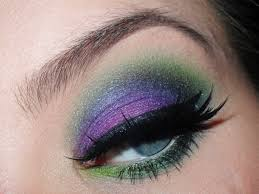 maleficent how to create a purple eye makeup look beauty on