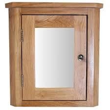 Corner Bathroom Mirror Solid Oak Corner Bathroom Mirror Cabinet Click Basin