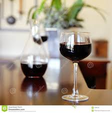 glass of wine bar table royalty free stock image image 2290246