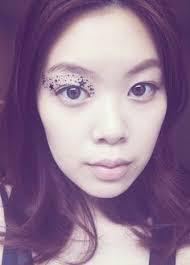 temporary makeup eyeshadow eye applique