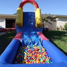 pit rental pit slide from around we bounce party rentals in san antonio
