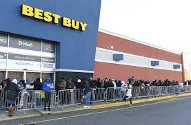 best buy looks like it s crushing black friday as hundreds of