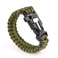paracord bracelet images Paracord bracelet 550lbs with whistle fire starter stealth jpg