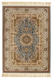 Faux Persian Rugs by Colours Helina Beige U0026 Blue Persian Rug L 2 3m W 1 6 M