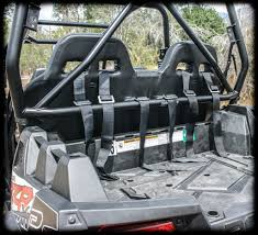 polaris rzr 4 rear bench seat by utv mountain accessories r800bs
