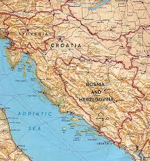 Yugoslavia Map Map Of The Balkans Slovenia Croatia Bosnia Serbia Macedonia