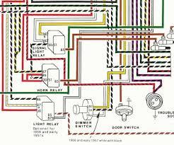 porsche 1956 1959 wiring diagram poster ynz u0027s online store