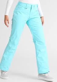 roxy backyard waterproof trousers blue radiance women sale