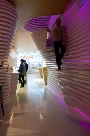 Futuristic Home Interior Futuristic Sushicafe Avenida Interior In Lisbon Portugal Home