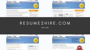 Get Your Resume Reviewed Resume2hire Com Review No Contact Methods Simple Grad