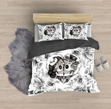 skull bedding sets sugar skull bedding by devilsrider