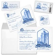 Wedding Stationery Sets Party Simplicity Fairytale Wedding Invitation Stationery Designs