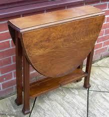 Drop Leaf Oak Table An Deco Oak Oval Drop Leaf Or Gate Leg Table Antiques Atlas