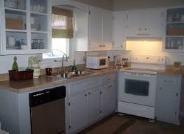 kitchen remodel after new handmade shaker doors painted cabinets