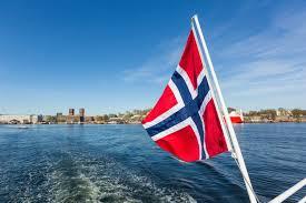 Norweigan Flag Norwegian Bank Standards Office Plans Blockchain Summit