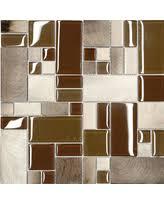kitchen mosaic backsplash deal alert travertine brown glass mosaic kitchen backsplash tile