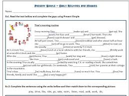 past tense verb worksheets by englishhints teaching resources tes