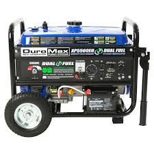 duromax xp5500eh 5 500 watt 7 5 hp portable electric start gas
