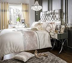 Velvet Comforters King Size Home Bedding Store King Size Luxury Velvet Cream Diamante Duvet