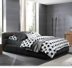 black and white striped bedding foter