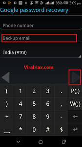 account recovery for android how to create gmail account without phone number pc mobile