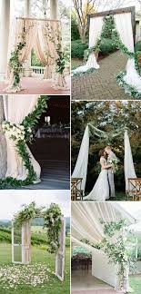 wedding arch greenery pantone color of the year 2017 top 50 greenery wedding ideas