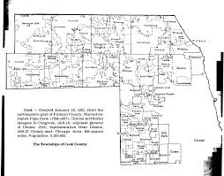 Illinois Map With Counties by Cook County Illinois Maps And Gazetteers