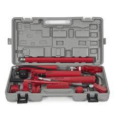 porta box auto 10 ton porta power hydraulic frame repair kit auto shop