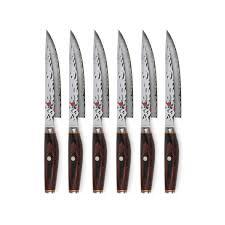 miyabi artisan sg2 knife block set 16 piece black cutlery and more