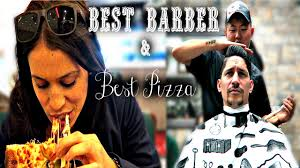 best barber u0026 pizza in brooklyn the nyc couple youtube