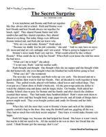 reading comprehension test for grade 4 reading comprehension stories classroom ideas pinterest