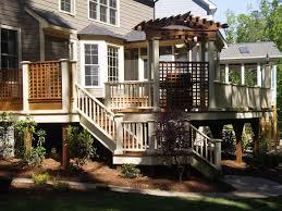 Backyard Deck And Patio Ideas by Triyae Com U003d Multi Level Patio Ideas Various Design Inspiration