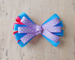 loopy bow layered loopy bow the hairbow center