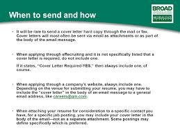 Sending Resume Through Email Sample Cover Letter Sent Via Email 6 Easy Steps For Emailing A Resume