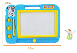 childrens kids magnetic drawing board toy sketch pad writing craft