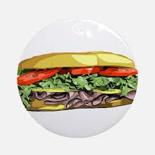 sandwich ornament cafepress