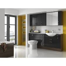 High Gloss Bathroom Vanity by Bathroom Furniture Black Zamp Co