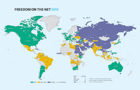 China World Map by Freedom House China Is The World U0027s Worst Abuser Of Internet Freedom