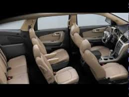 chevrolet traverse 7 seater 2012 chevrolet traverse explored youtube