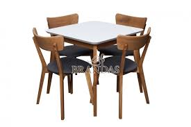 white mdf table top calisto dining table with white lacquared beech table top brandas