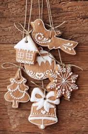 personalised gingerbread house hanging decoration gingerbread