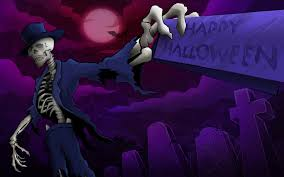 halloween background wide happy halloween skeleton wallpapers 1920x1200 288174