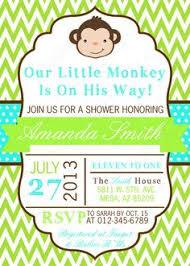 baby shower monkey invitations baby shower monkey invitations to