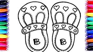 barbie sandals coloring pages learn art coloring barbie shoes