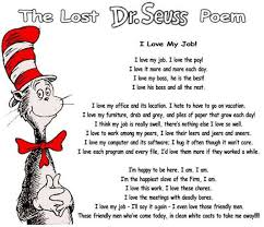 famous poems about teamwork love my job cat in the hat funny