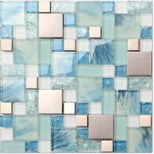 Blue Glass Tile Bathroom Shop Tiles Unbeatable Low Prices On Bravotti Com