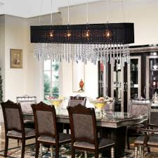 elegant dining room chandelier drum linen chandelier glass table