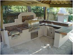 outdoor kitchen islands fascinating amazing modular outdoor kitchen island grey tile