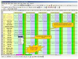 employee vacation calendar excel calendar template word